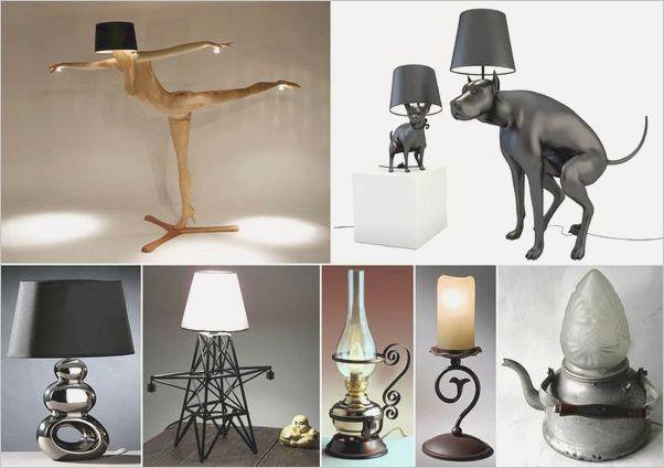 Настольная лампа декоративная светодиодная Garda Decor